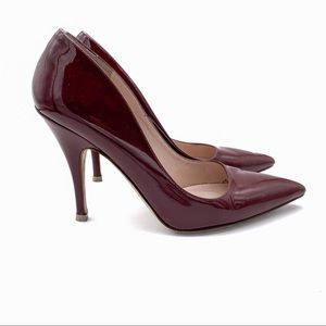 Kate Spade Licorice Pumps Red Chestnut